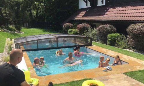 Bazén so slanou vodou Nízke Tatry